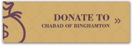 Donate to Chabad of Binghamton